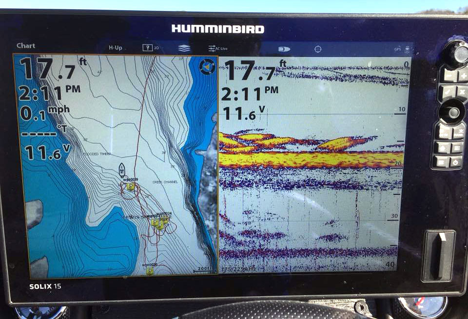 Humminbird screen