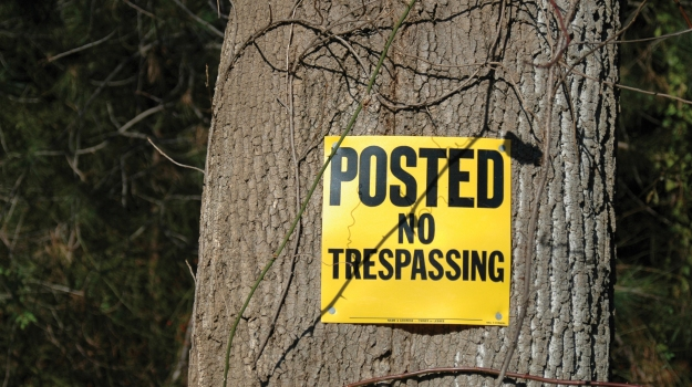 keep your property free of trespassers mossy oak