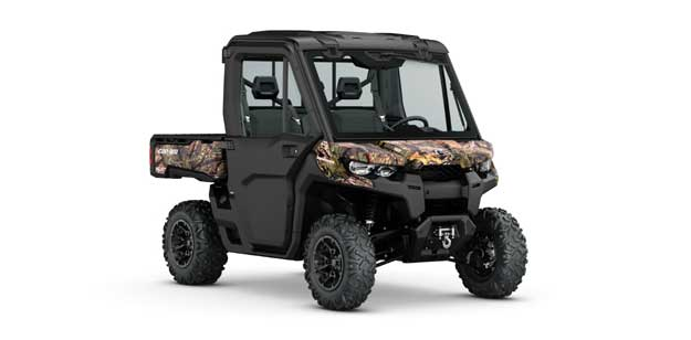 Can Am Off Road Introduces The New Defender Xt Cab Mossy Oak