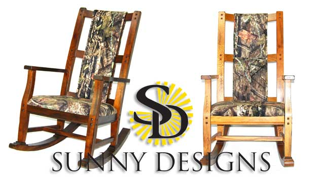 Mossy Oak Nativ Living Joins Sunny Designs To Offer Distinctive Camo  Rocking Chairs