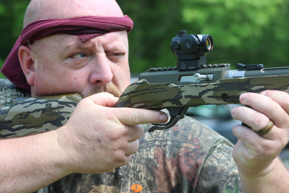 Tactical Solutions Takedown Rifle test