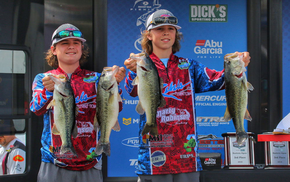 Bassmaster High School winners