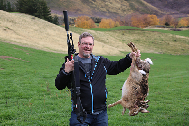 New Zealand hares