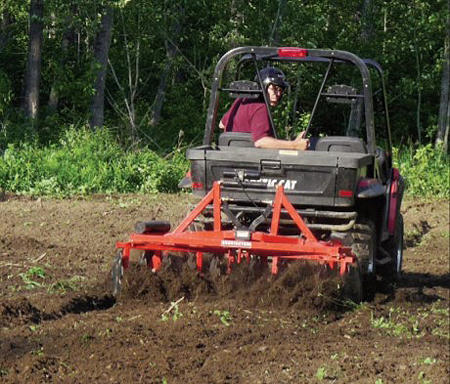 atv plowing attachment