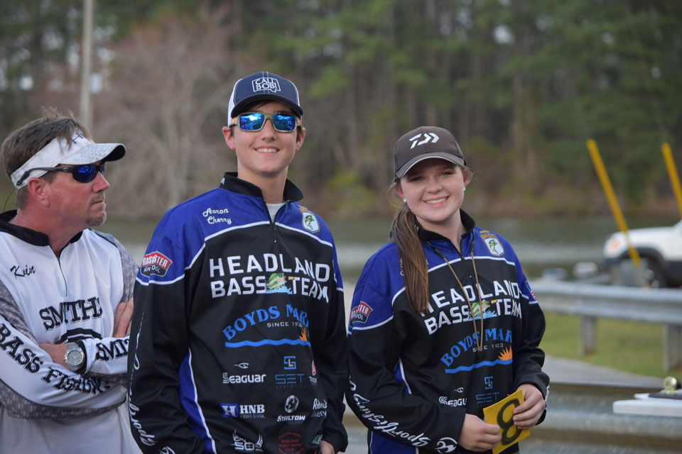 Aaron Cherry 2018 Mossy Oak Fishing Bassmaster High School National Championship Runner Up