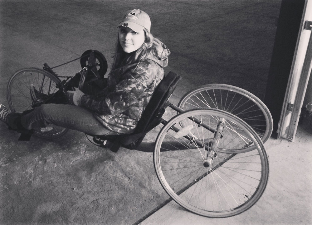 Ashlee Lundvall adaptive hunting equipment