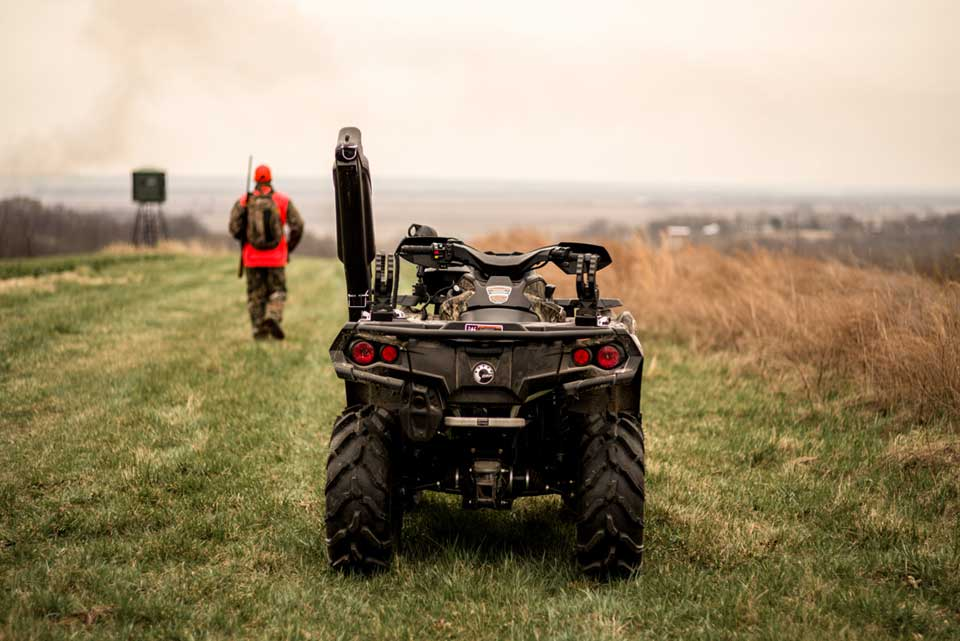 Atv Side By Side >> Choosing The Right Atv Or Side By Side For Your Hunting Property