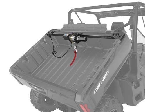 can-am defender cargo winch