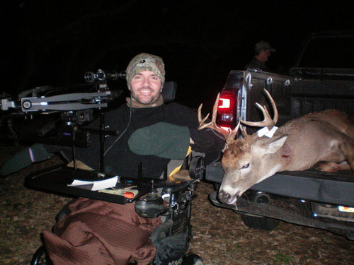 Clint Lindemann crossbow buck