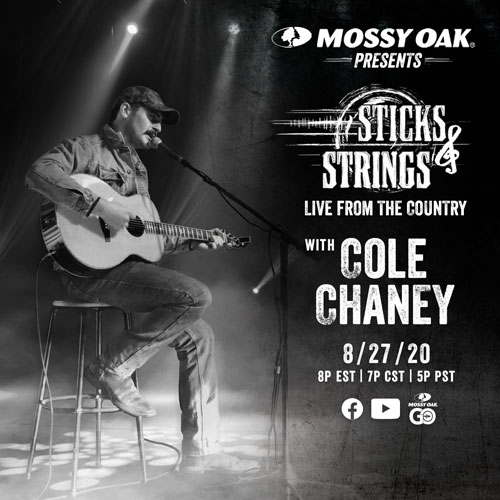 Mossy Oak Sticks & Strings Cole Chaney