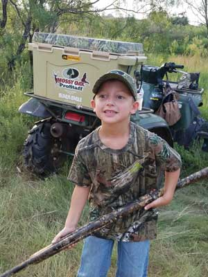 Colton Jones turkey hunt