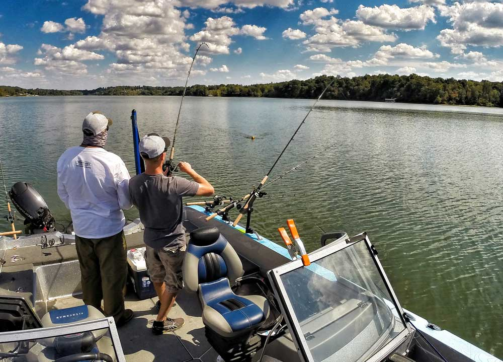 Using Small Planer Boards For Crappie Fishing
