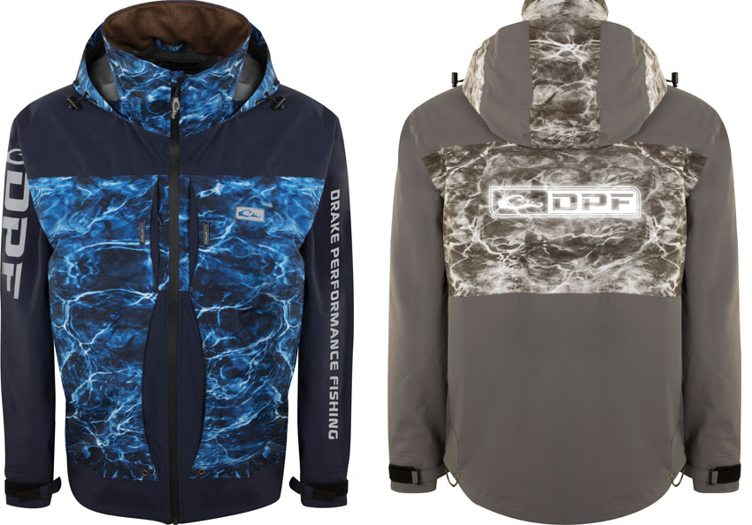 Drake Performance Fishing jacket Mossy Oak Elements
