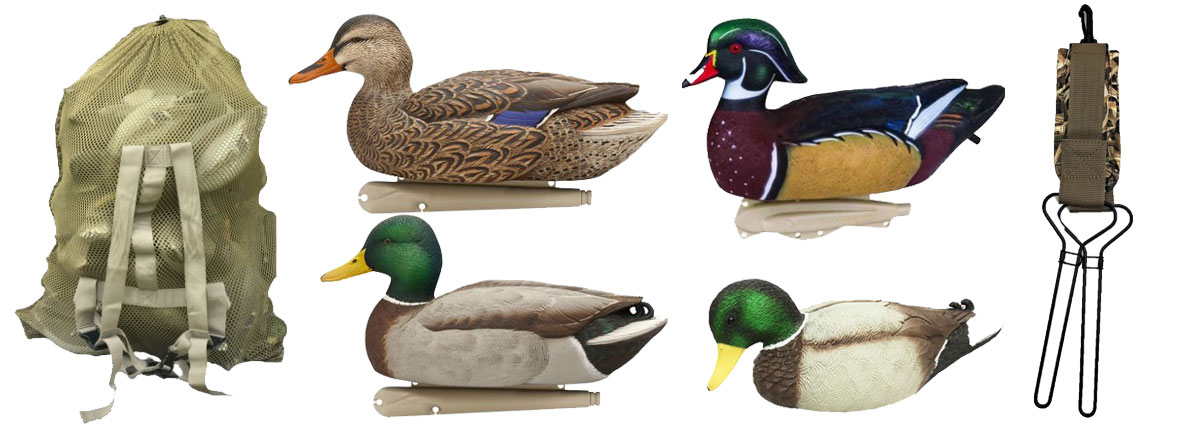 duck decoys and accessories