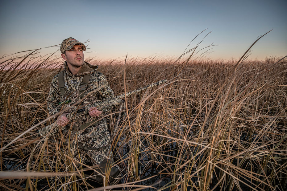 Shadow Grass Blades duck hunting