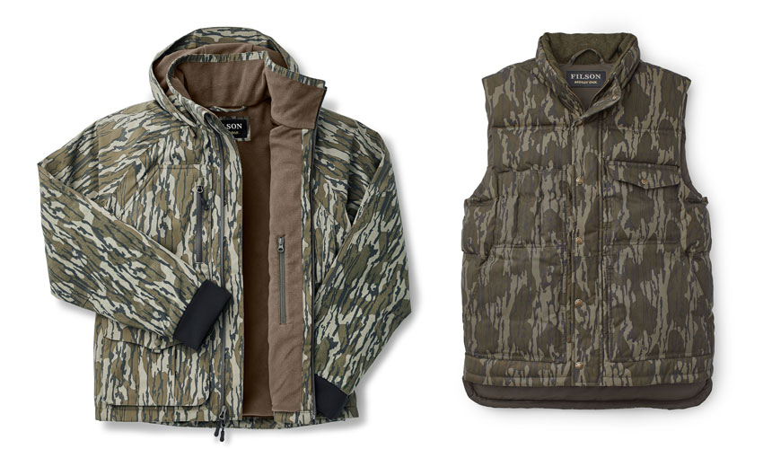 Filson waterfowl jacket and vest