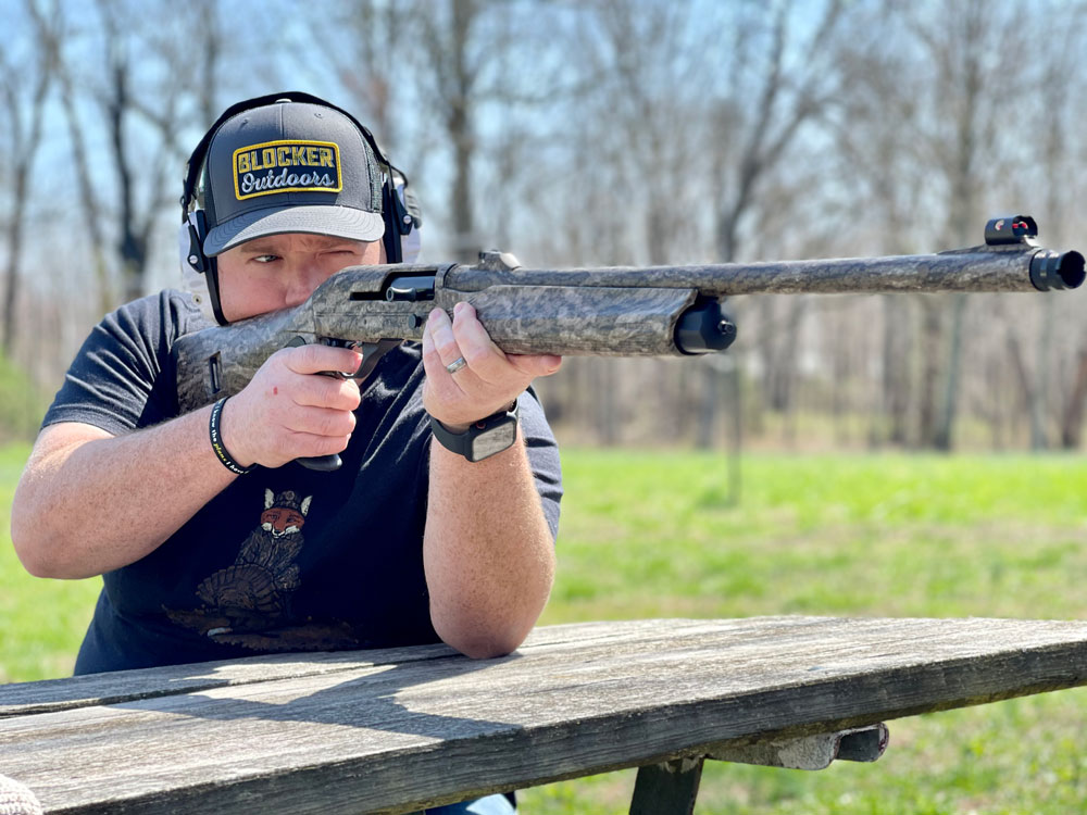 Franchi Affinity 3.5 Turkey Shotgun Test