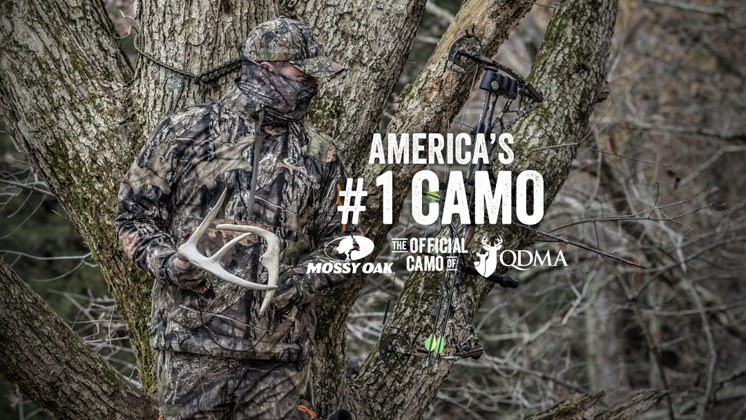 Mossy Oak And QDMA Proudly Feature America's No 40 Pattern Mossy Oak Extraordinary Best Hunting Camo Pattern