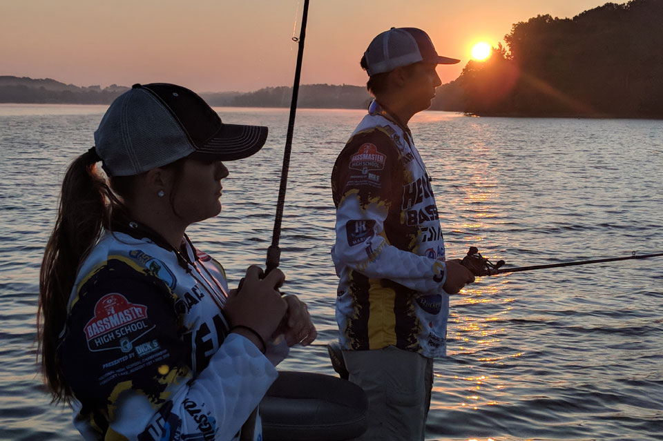 Gracie Herbold Mossy Oak Bassmaster High-School-Fishing-National Championship
