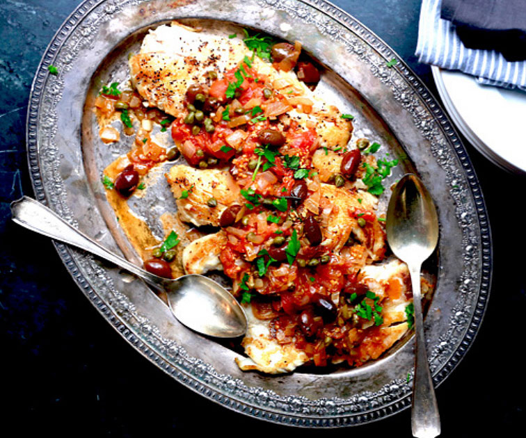 Greek Snapper Fish Recipe
