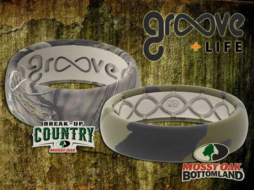 mossy oak silicone wedding bands