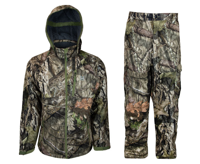 Heybo Mossy Oak Full Draw apparel