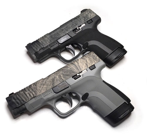Honor Defense NRA Mossy Oak Overwatch pistols