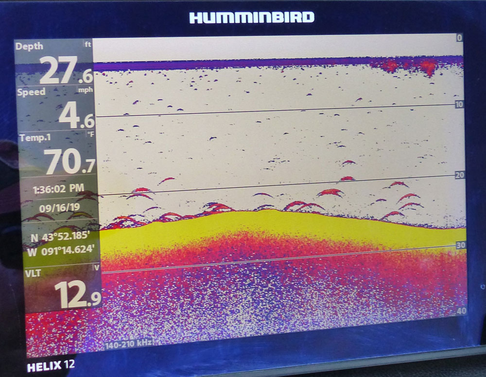 Humminbird depth finder