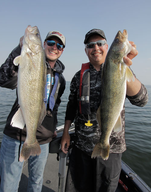 Johnnie Candle walleye fishing