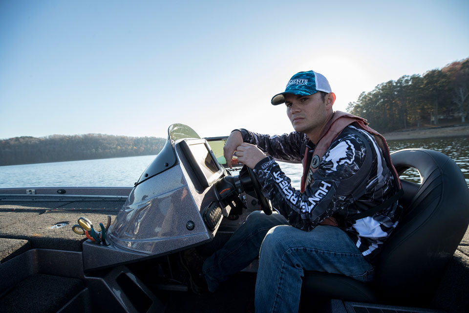Jordan Lee Mossy Oak Fishing Team
