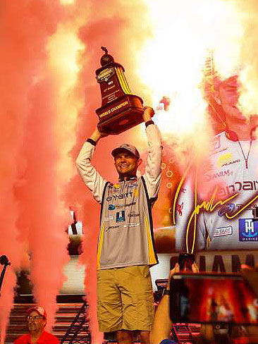 Jordan Lee Bassmaster World Champion