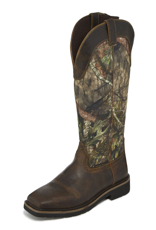 8f395f24f68 Justin Shrublands Snake Boot Available in Mossy Oak Break-Up Country ...