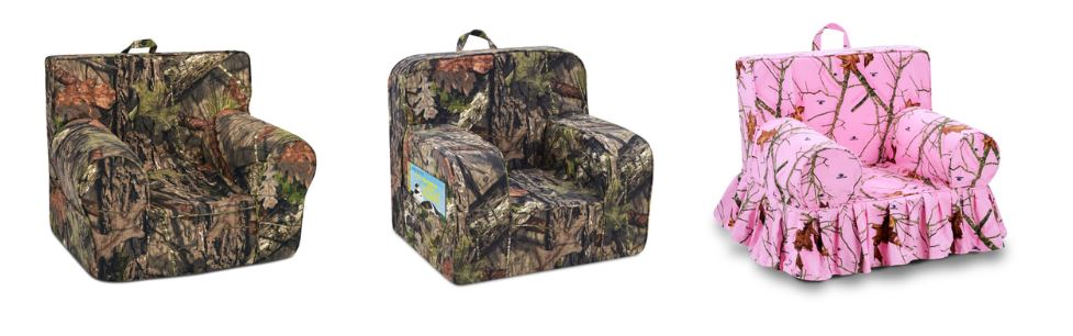 camo kids chairs