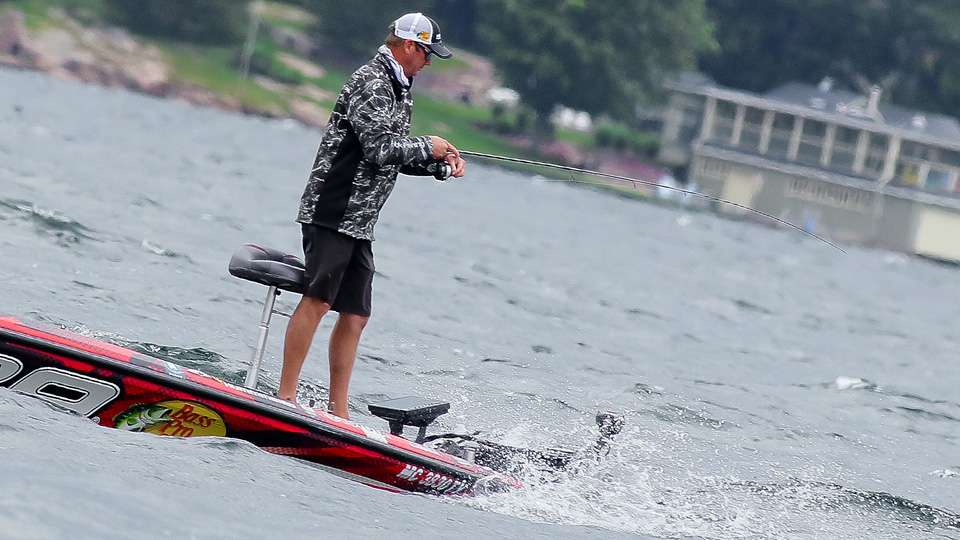 Kevin VanDam fishing