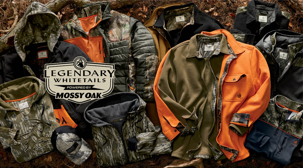 Legendary Whitetails Mossy Oak Collection