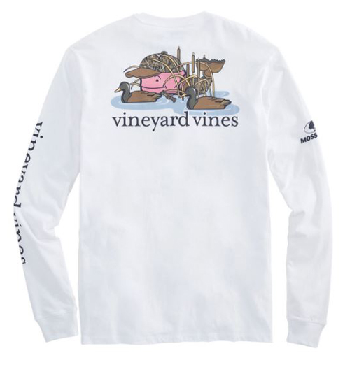 Mossy Oak vineyard vines ls tshirt