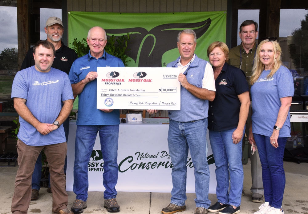 Mossy Oak Properties Catch-A-Dream donation