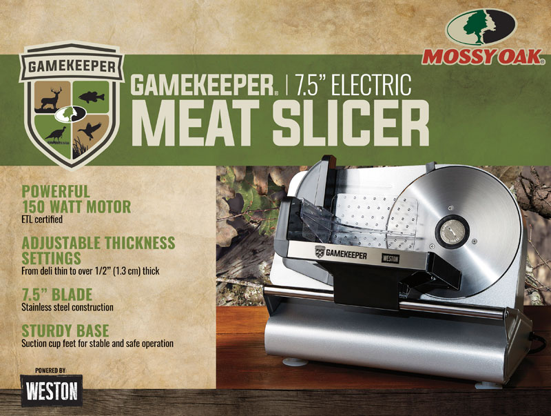 DIY Meat Processing Equipment from Mossy Oak GameKeepers