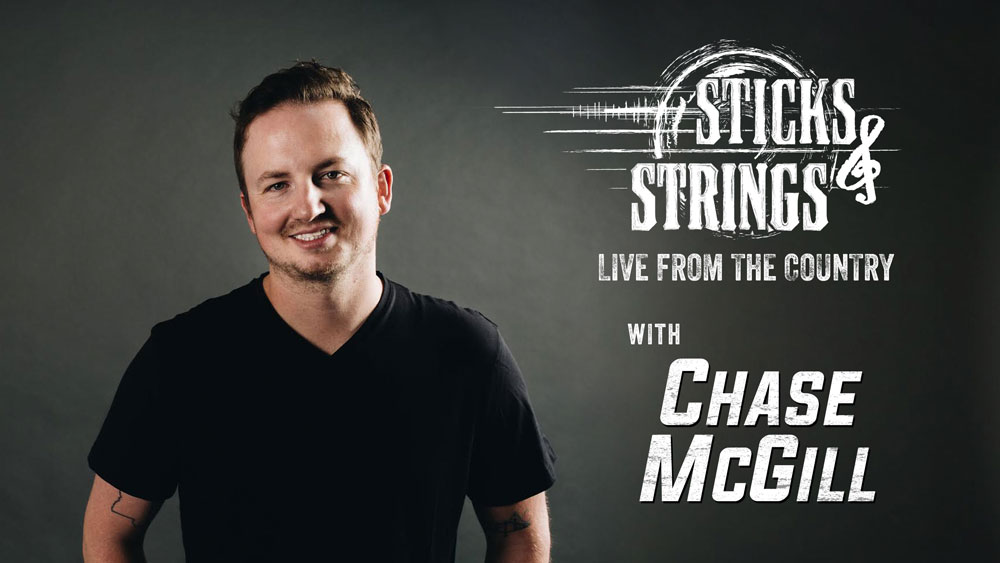 Chase McGill Sticks & Strings