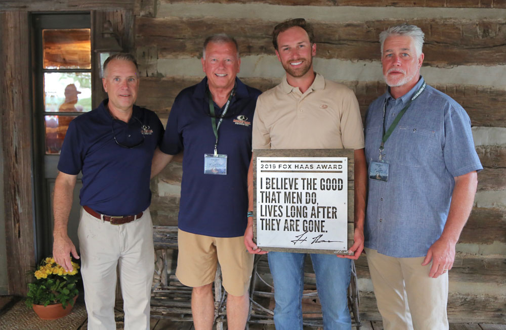 Mossy Oak Properties Fox Haas Award 2018