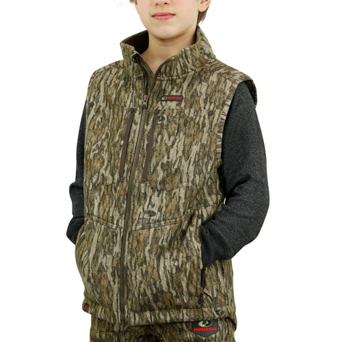 Mossy Oak youth camo vest