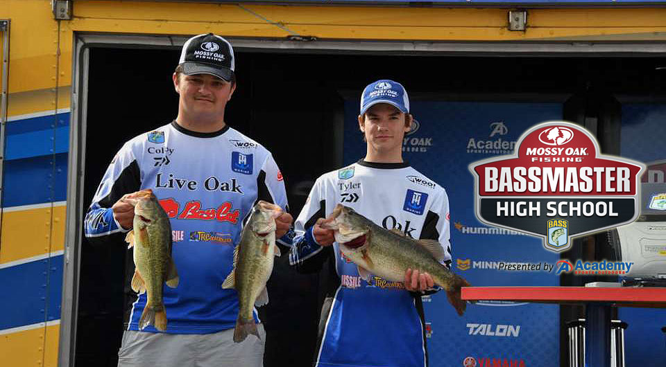 Mossy Oak High School Fishing winners