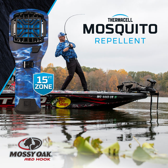 Kevin VanDam Mossy Oak Fishing Red Hook Thermacell