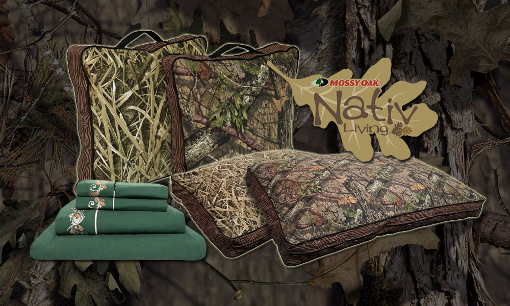 MyPillow Mossy Oak Nativ Living