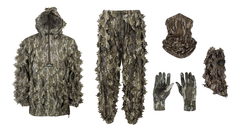 North Mountain Gear leafy suits