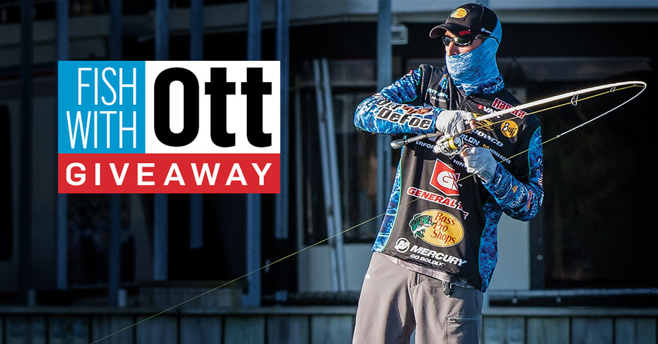 Fishing with Ott DeFoe giveaway