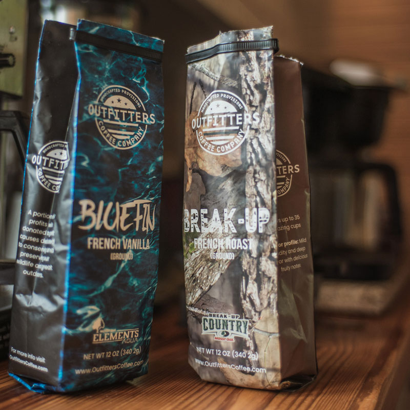Outfitters Mossy Oak coffee