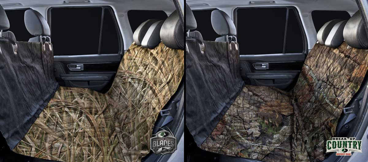 ProMaster back seat covers Mossy Oak