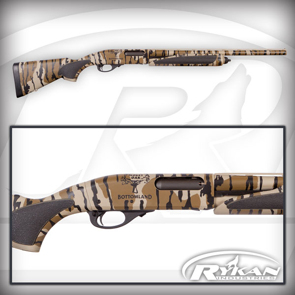 Mossy Oak Bottomland Cerakote finish gun