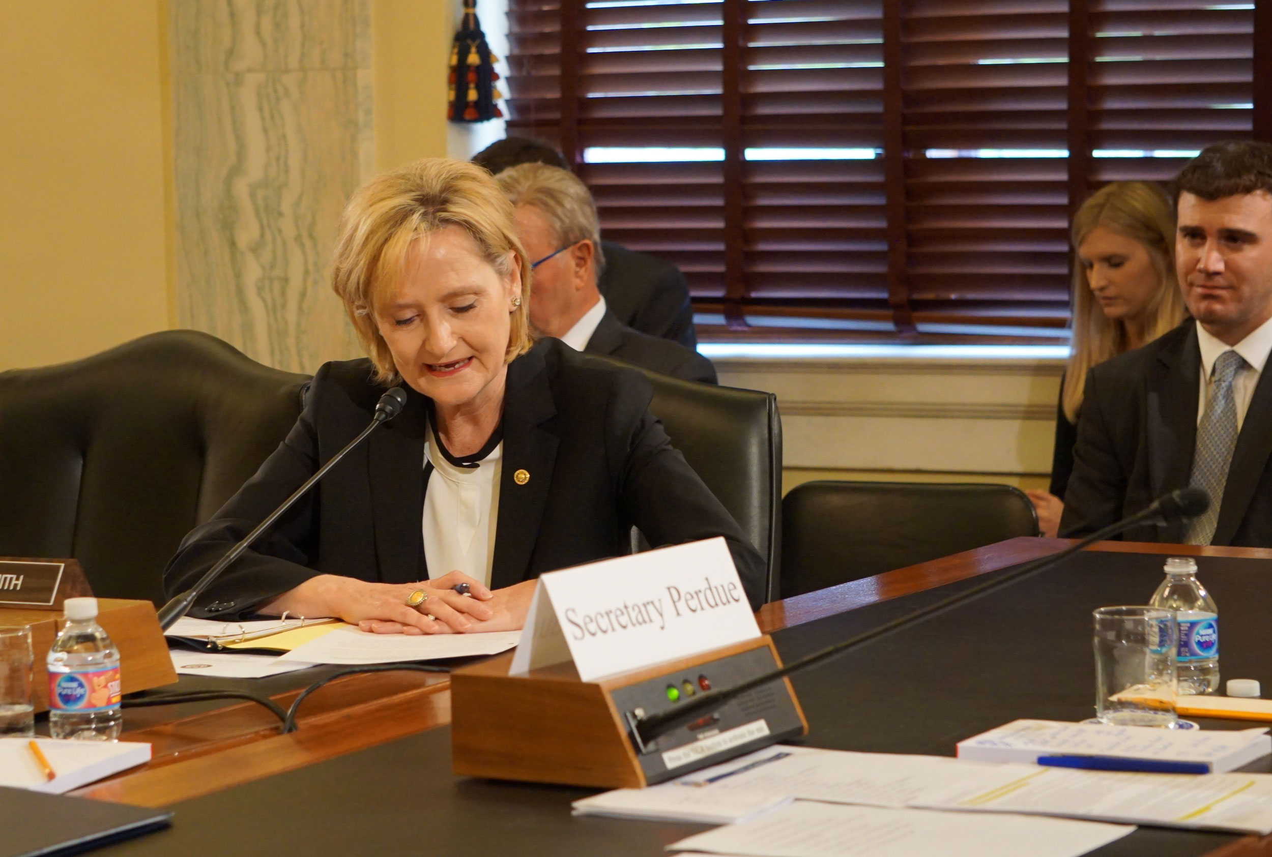 Senator Cindy Hyde-Smith Proposed Duck Extension